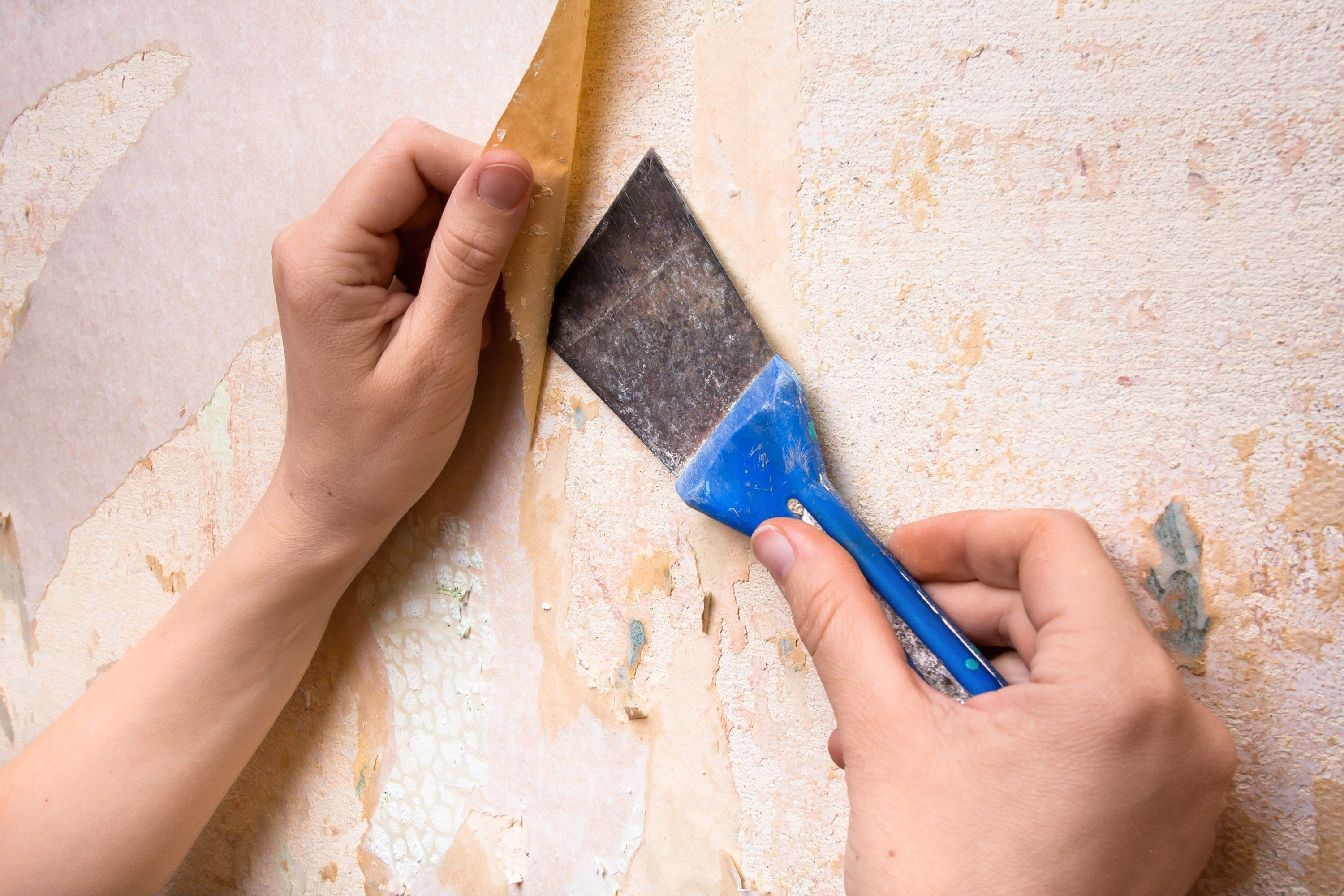 You Ve Stripped Off Your Old Wallpaper But The Job Isn T Done Learn How To Remove Wallpaper Glue T Remove Wallpaper Glue Cleaning Hacks Cleaning Painted Walls