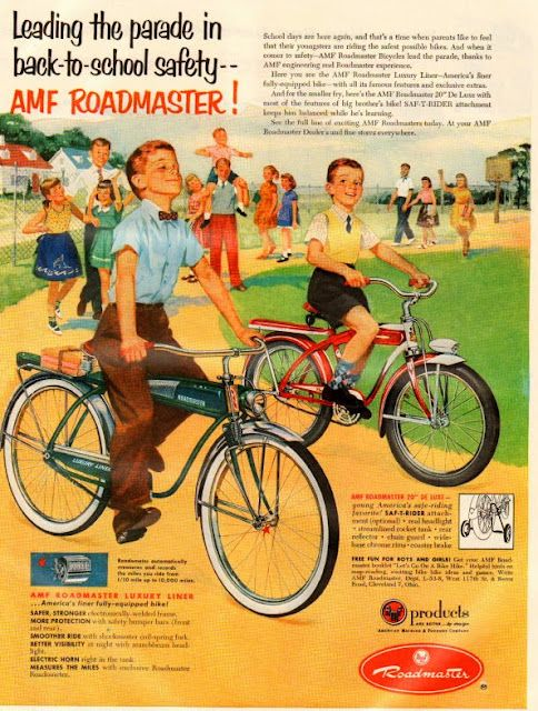 My cousins had bicycles like these ones, I wanted one so badly, but I was too young.