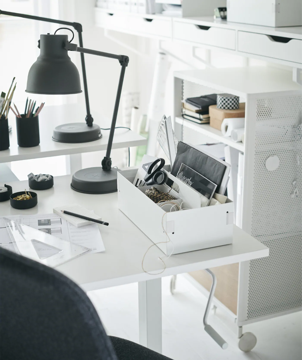 Arbeitsecke im Wohnzimmer einrichten in 16  Wohnzimmer