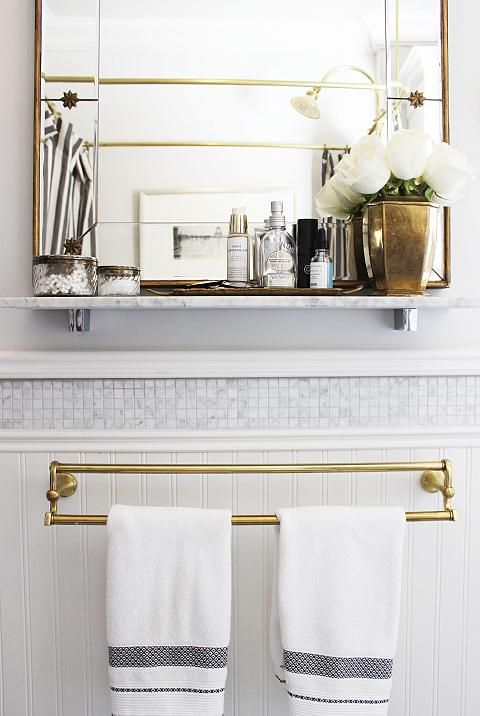 Love The Tile Above The Beadboard And Make This Shelf