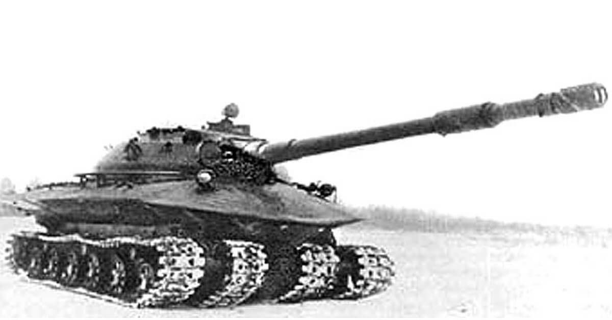 Weird! Object 279, A Soviet Heavy Tank Designed That Could Survive A Nuclear…