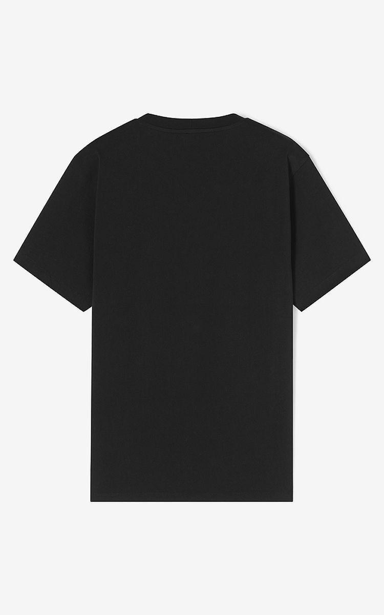 Download Black Tiger T Shirt For Men Kenzo Plain Black T Shirt T Shirt Design Template Graphic Shirt Design
