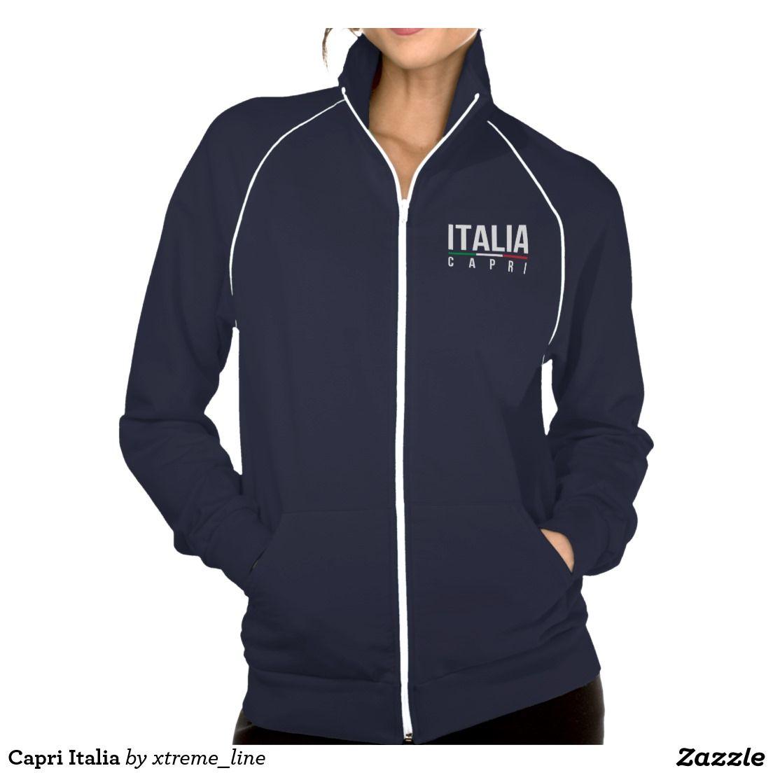 #Capri Italia Track Jacket. #Italy #Zazzle