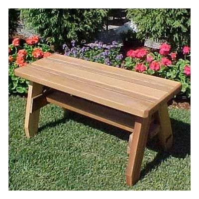 Woodcountry Herman Convertible Picnic Bench Finish Cedar Stain Stone Garden Bench Picnic Bench Outdoor Bench