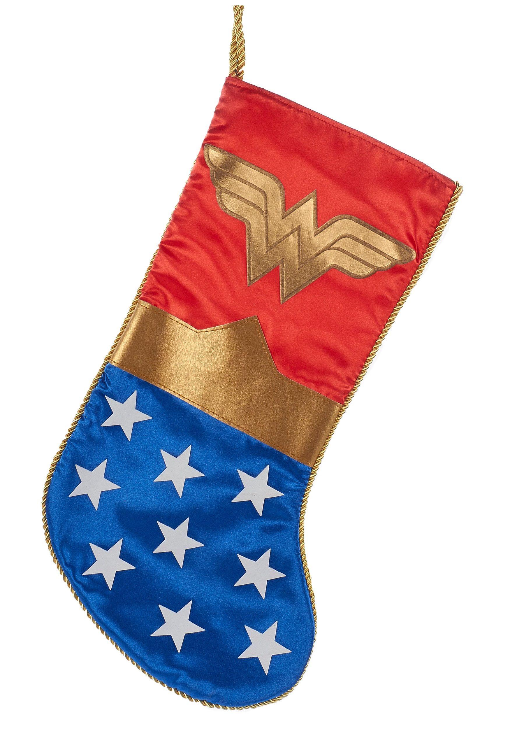 Merry Xmas Christmas Stockings Wonder Woman Logo Christmas Stockings With Names