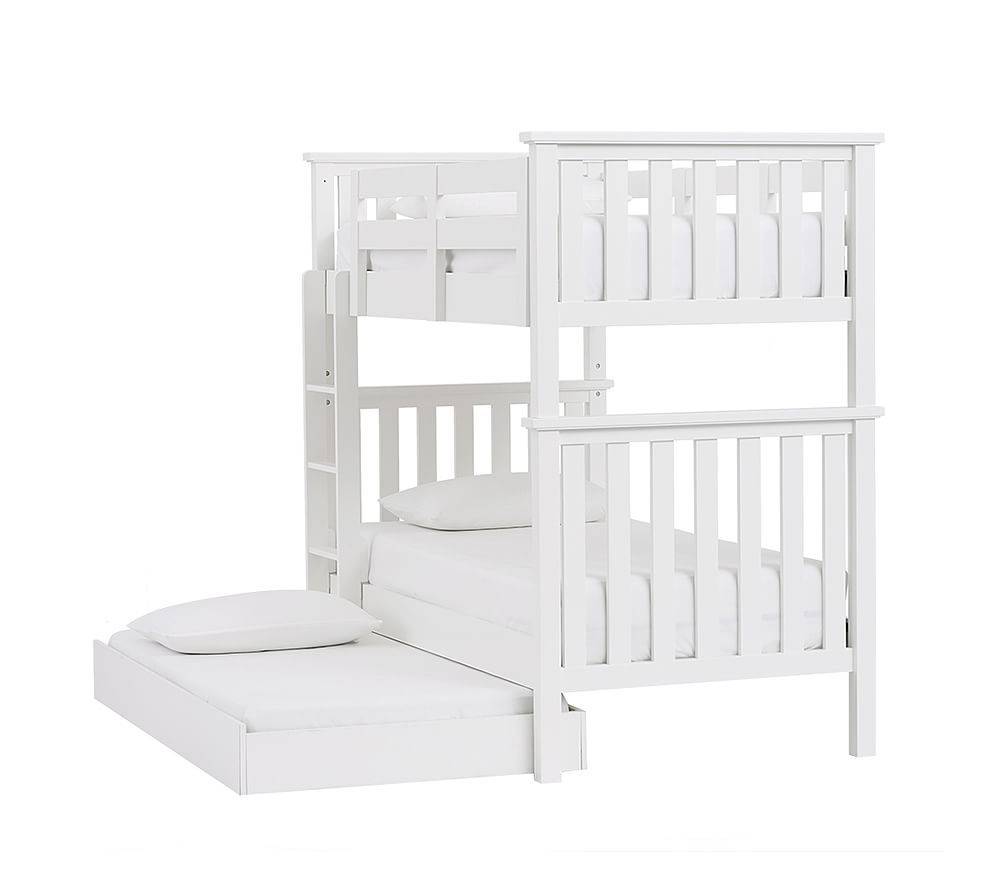 Elliot Bunk Bed With Trundle Bunk Beds Twin Bunk