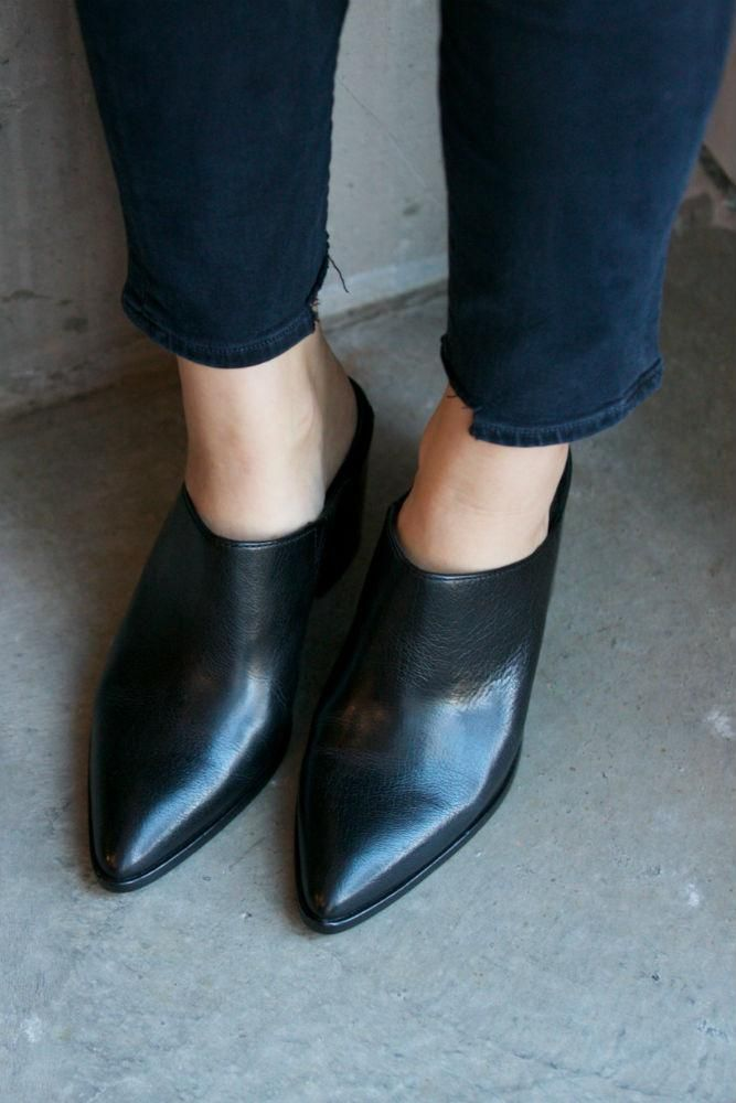 46774a028f5 Frye Flynn Mule | Products | Shoes, Fashion, Block heels