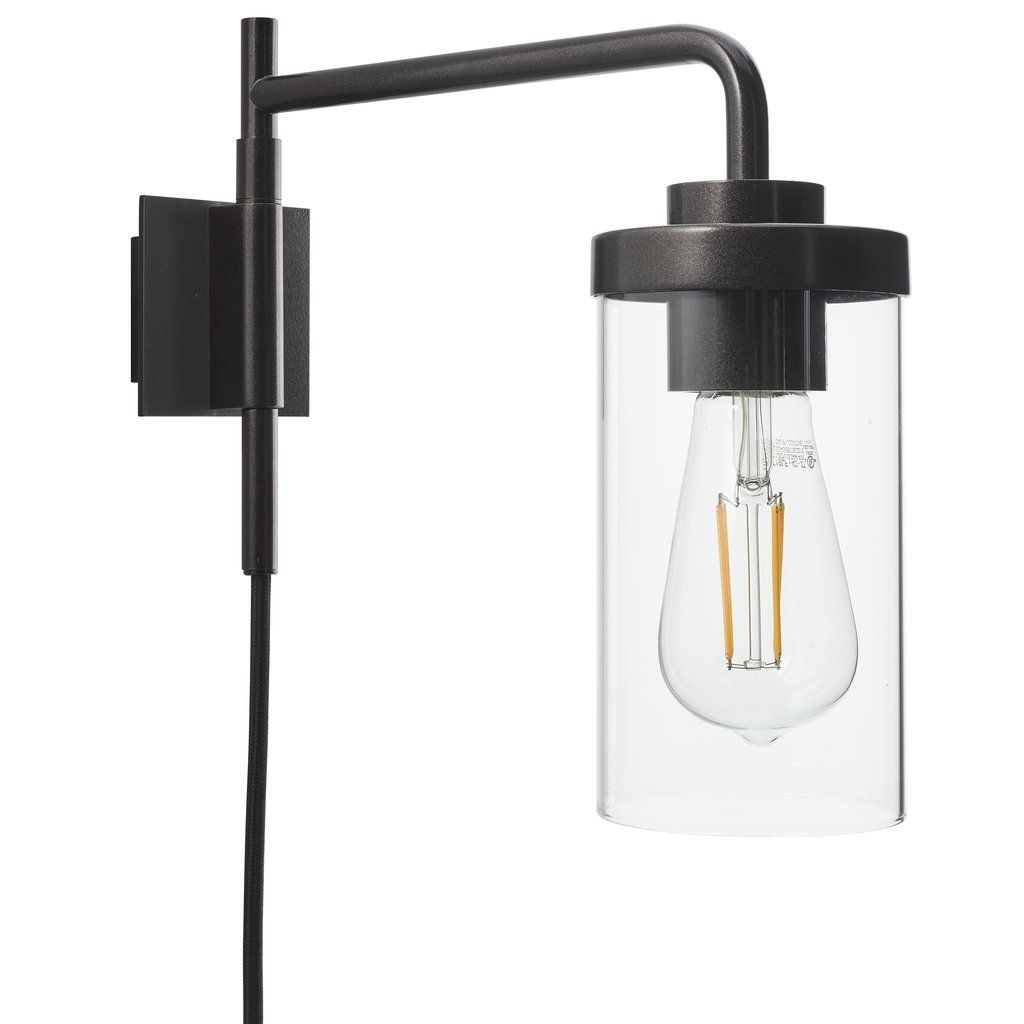 Luncia Plug In Wall Sconce Plug In Wall Sconce Plug In Wall Lamp Wall Mount Light Fixture