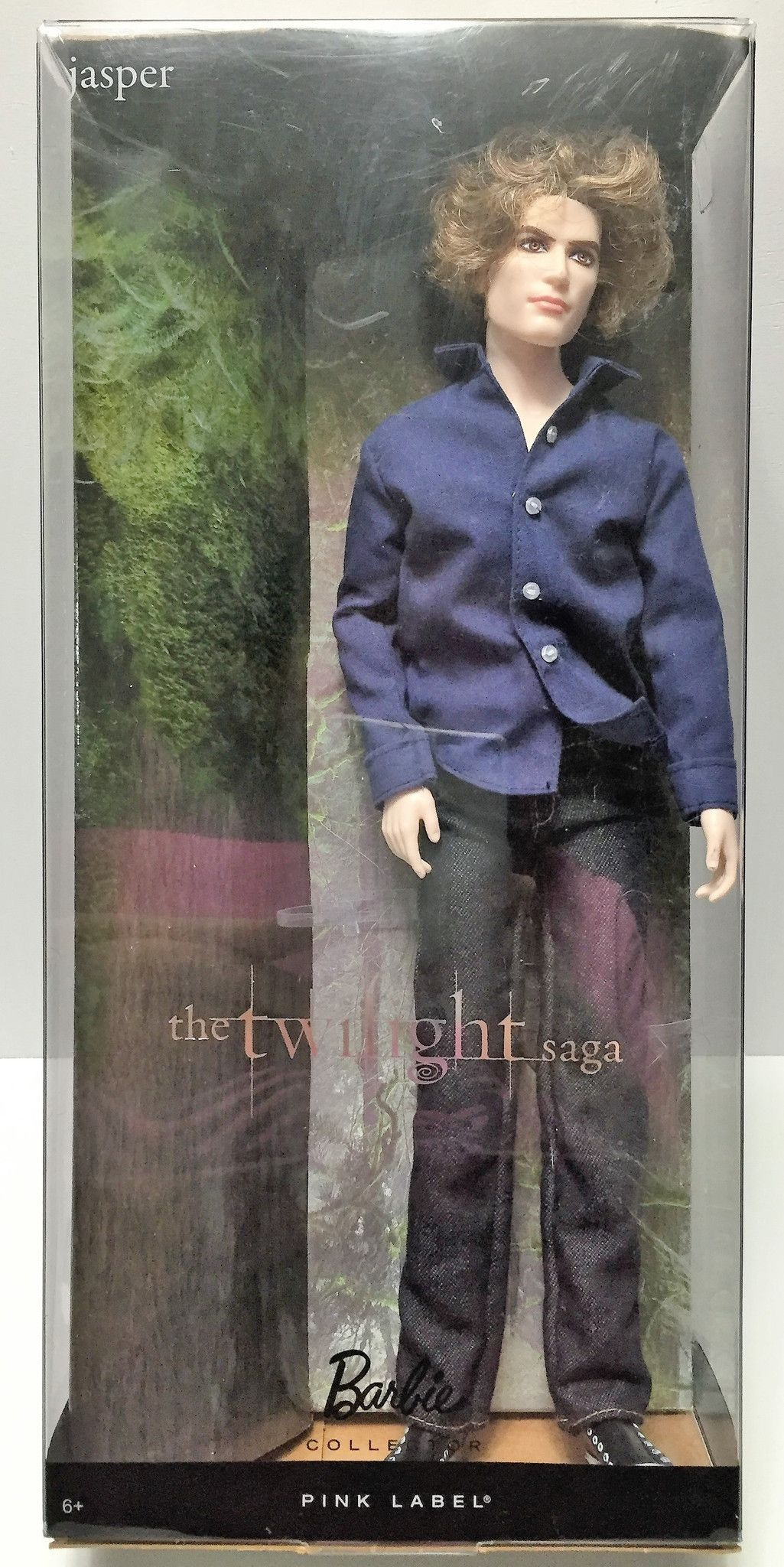 Breaking Dawn Part II Jasper Doll Barbie Mattel Collector The Twilight Saga