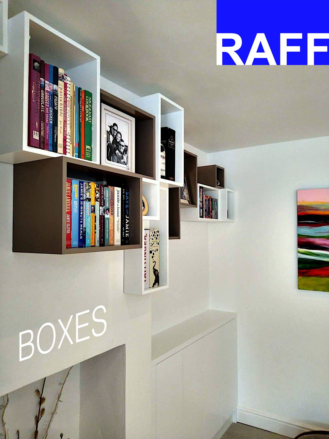 Random Sizes Wall Storage Boxes Wall Storage Furniture Bespoke Furniture