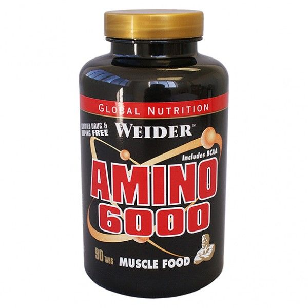 Weider amino 6000 how to take