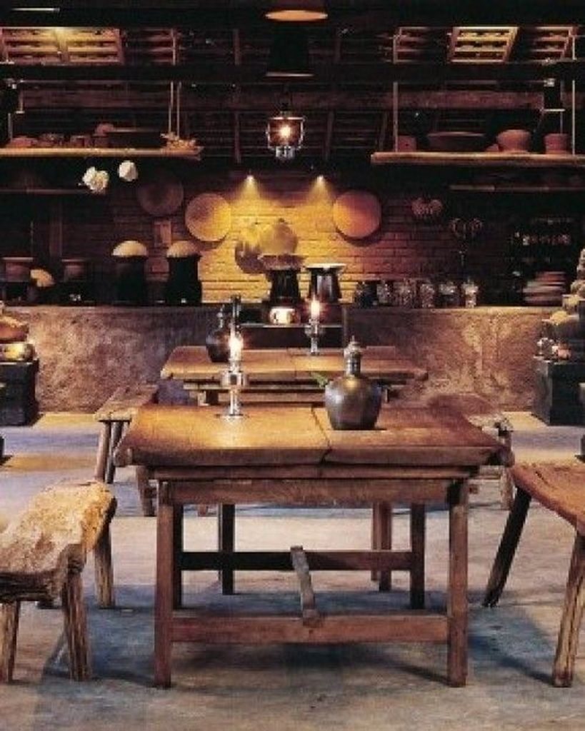 41 Comfy Traditional Dining Room Design And Decor Ideas From Indonesia images