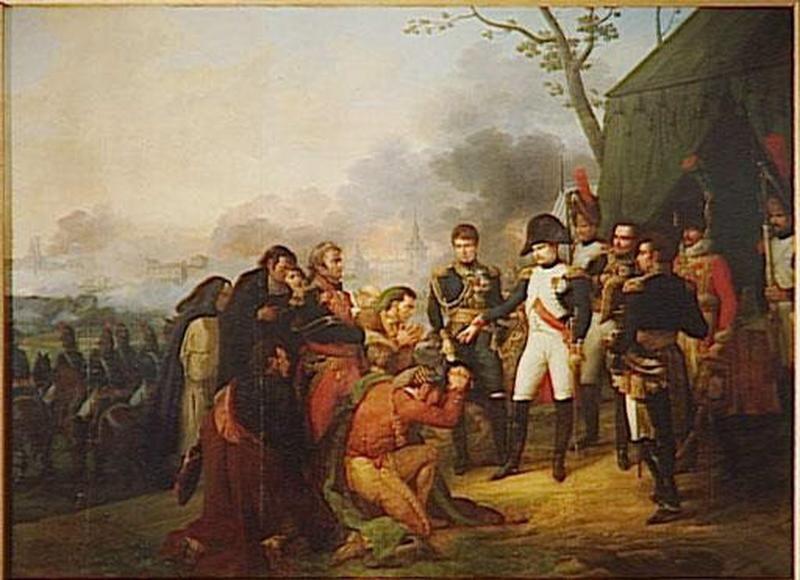 NAPOLEON DEVANT MADRID.3 DECEMBRE 1808