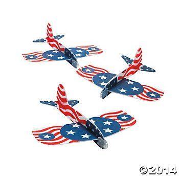 Patriotic Gliders (12 Gliders per Order) Foam/Fourth of July/Independence Day Fun Express http://www.amazon.com/dp/B00IOAUR2E/ref=cm_sw_r_pi_dp_fXGJvb0W6SH6D