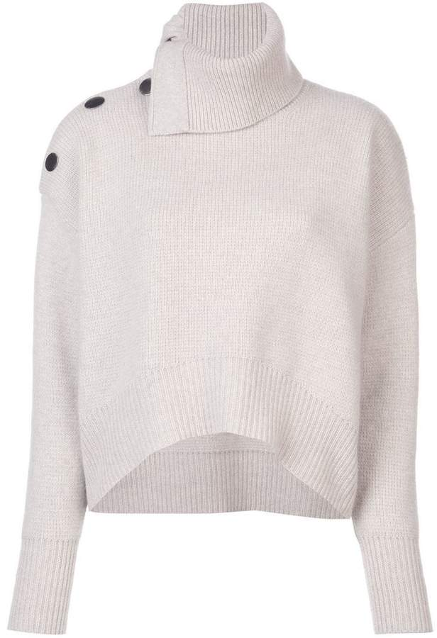 5978b77a0 Le Kasha cashmere roll neck sweater