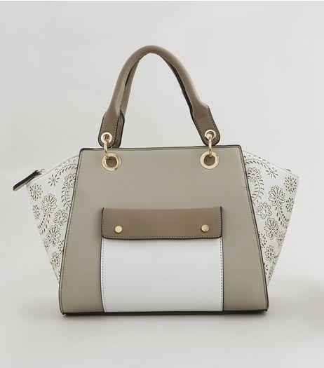 Pocket Front Bowler Bag