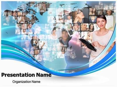 Download our professional looking ppt template on global download our professional looking ppt template on global communication and make an global communication powerpoint presentation quickly and affordably toneelgroepblik Images