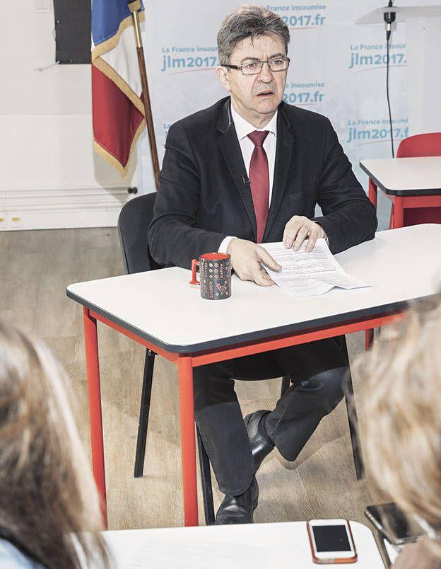 Les candidats face à la rédaction : Jean-Luc Mélenchon, l'interview en intégralité