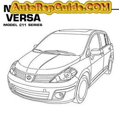 download free nissan versa tiida latio c11 2007 2011 repair rh pinterest com Nissan Murano Nissan Sentra