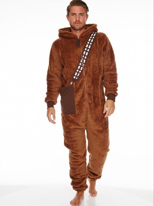 Star Wars Chewbacca Adult Mens Jumpsuit Halloween Star Wars