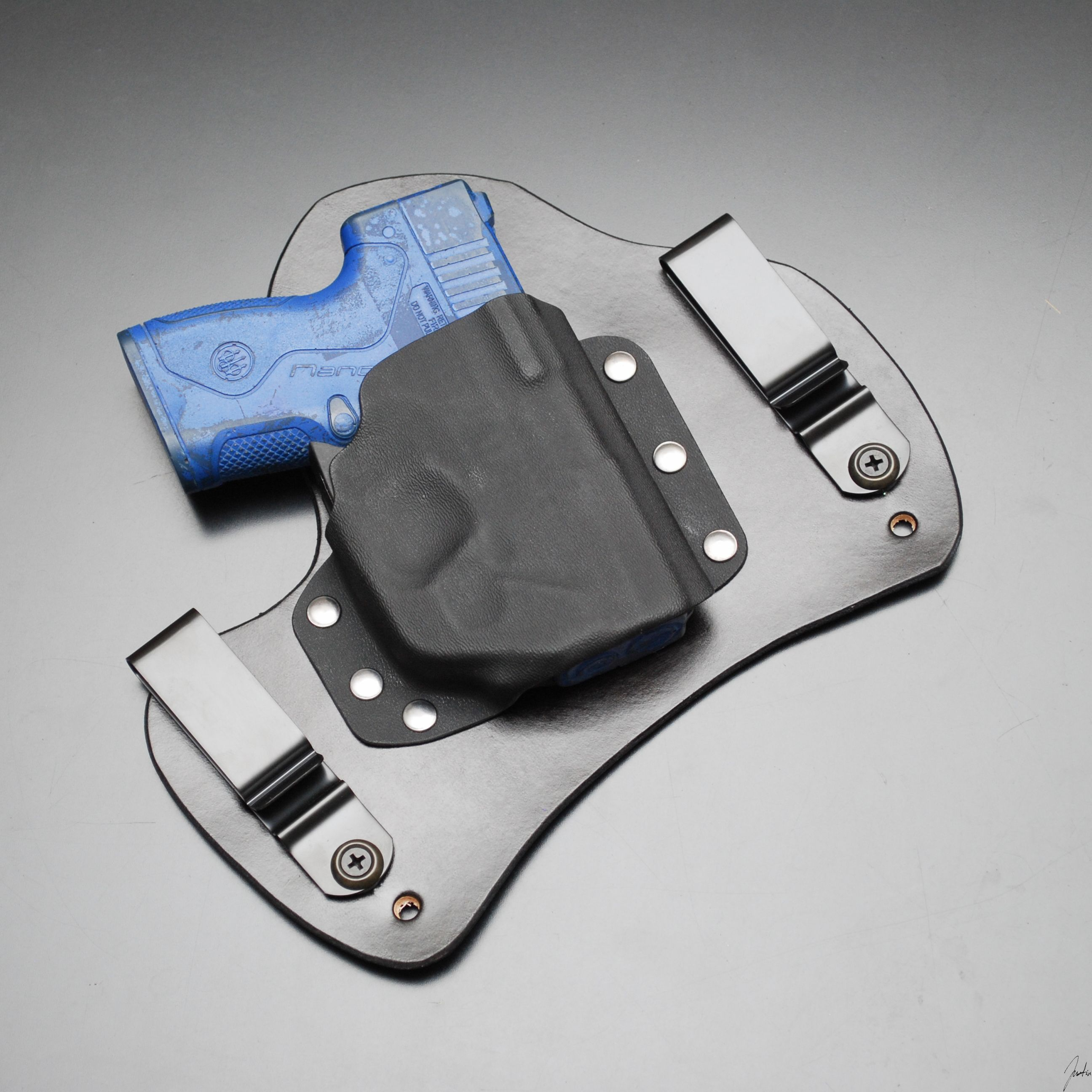 IWB Hybrid  Kydex Holster Don/'t Tread BLK SIG