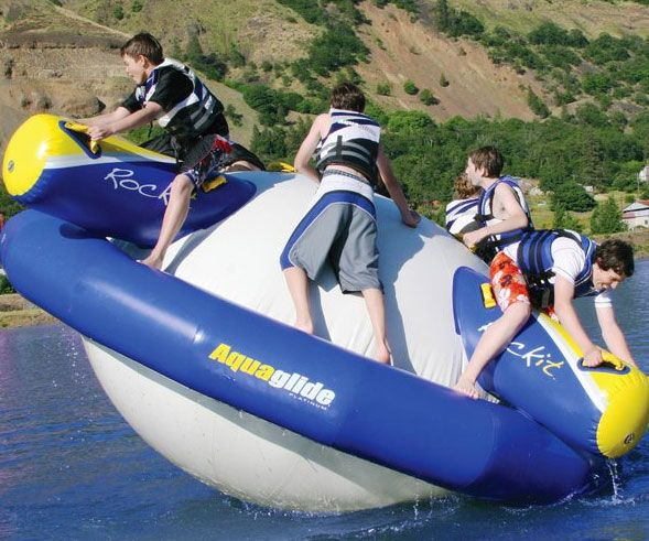 Rocking Inflatable Float Inflatable Float Lake Floats Water Park