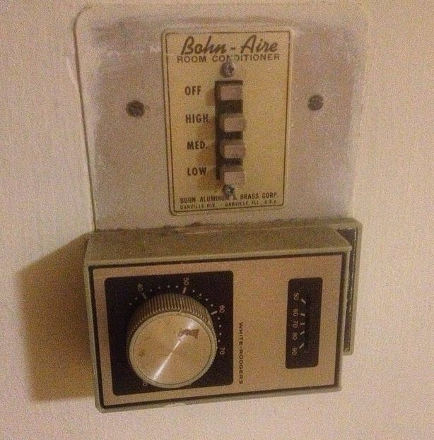 Vintage White Rogers Thermostat Furnace Repair Repair And