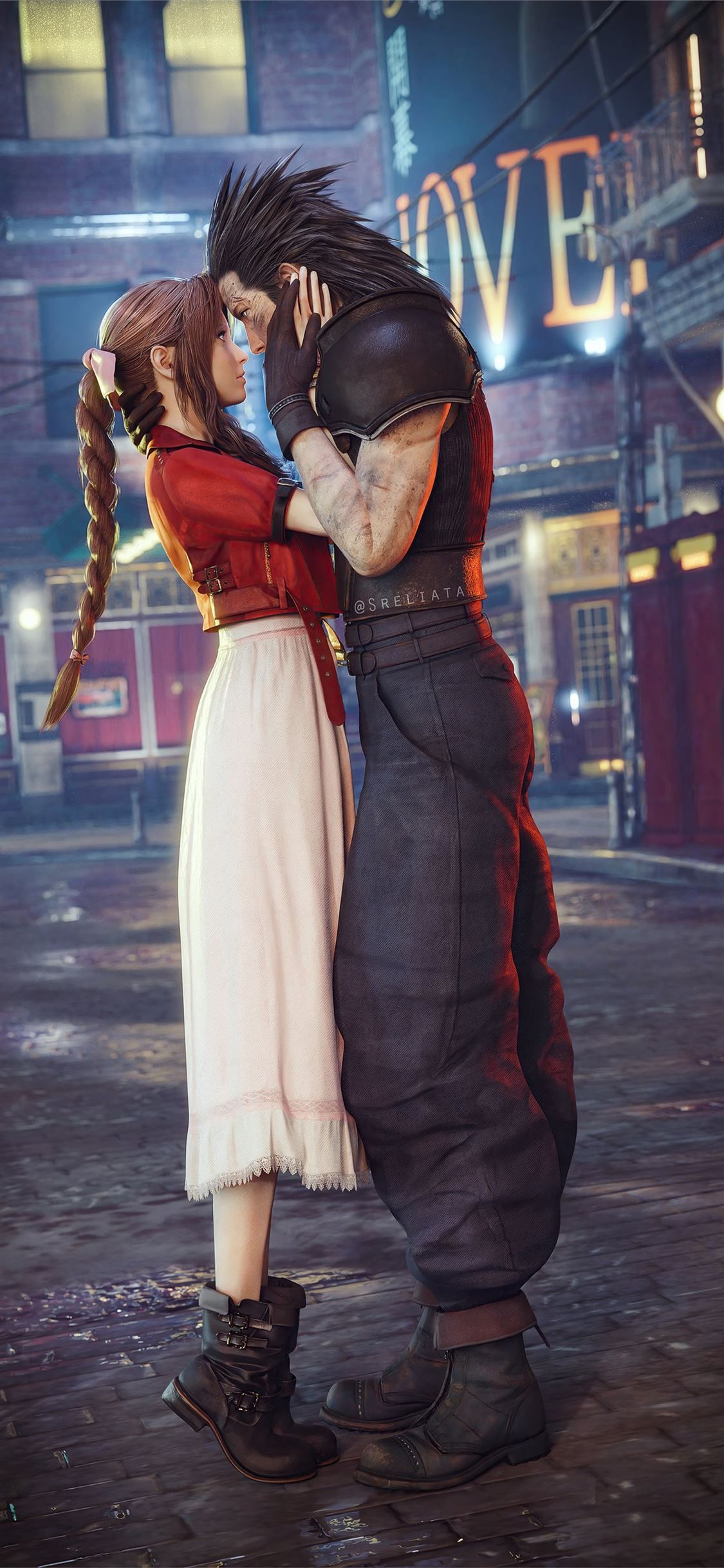 Aerith Gainsborough And Cloud Strife Final Fantasy Finalfantasy 2020games Games 4k Iphone1 In 2020 Final Fantasy Art Final Fantasy Vii Remake Final Fantasy Vii