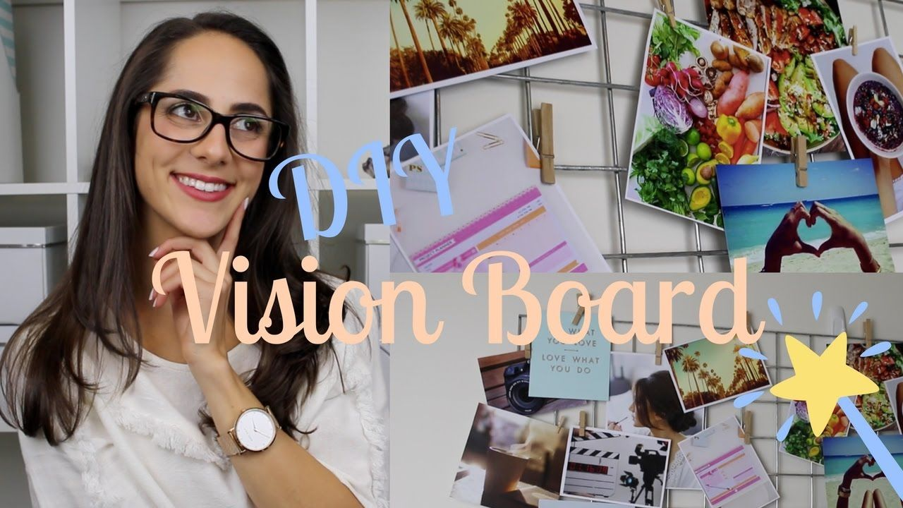Diy vision board how to manifest your dreams vision