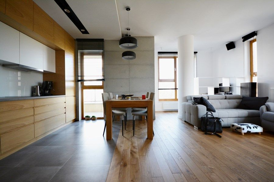 Styl Skandynawski W Kuchni Polaczonej Z Salonem Inspiracja Homesquare Design Home Decor Room