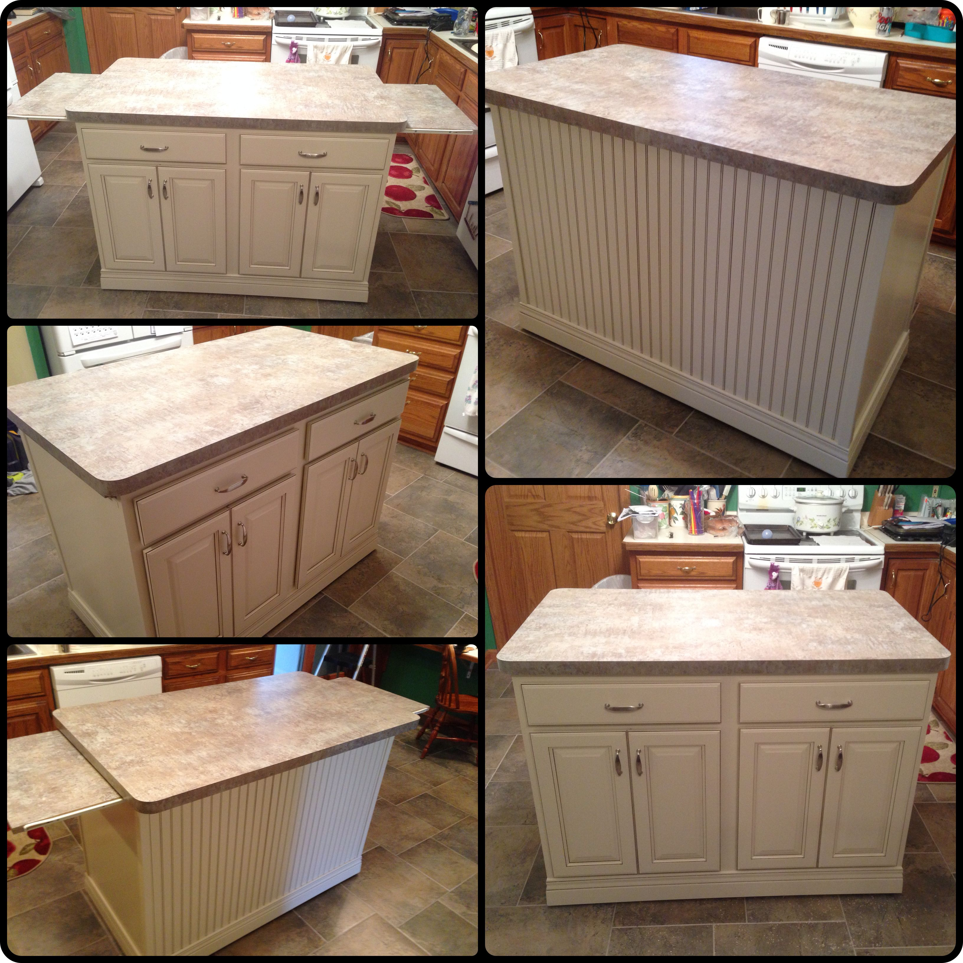 custom kitchen island and countertop on wheels with slide out extendable end trays custom on outdoor kitchen on wheels id=63469