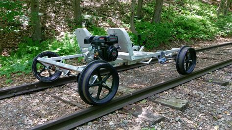 Rail Riders   Rail car, Rider, Bike design