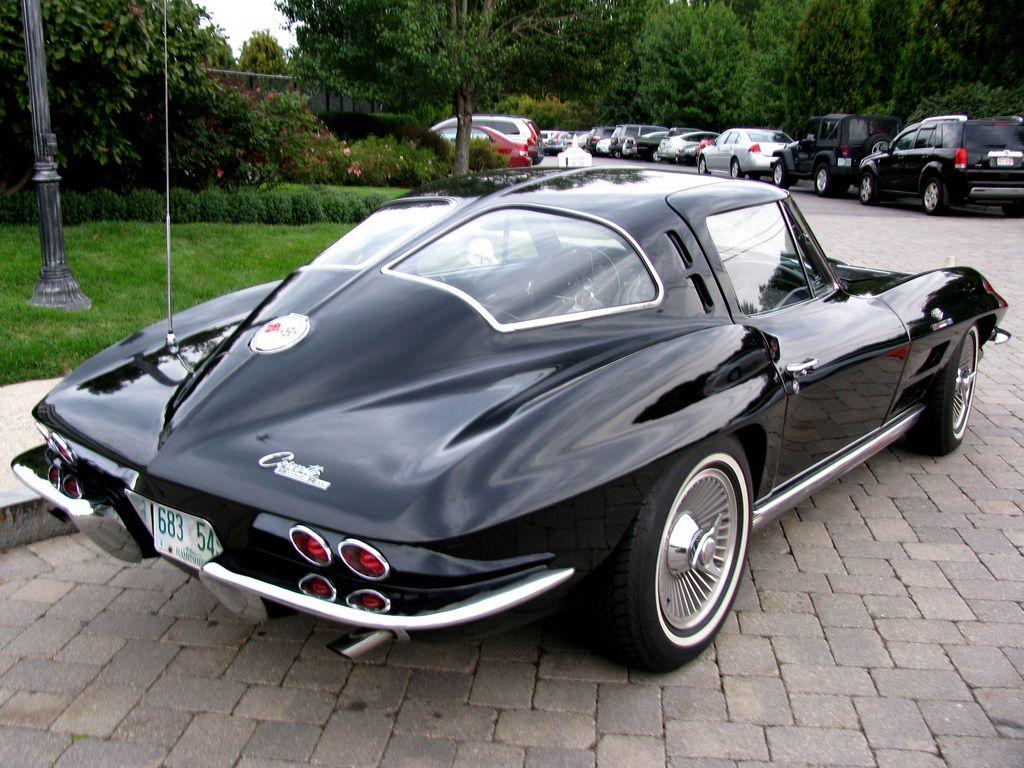A 1963 corvette stingray maintenance restoration of old for 1967 corvette stingray split window