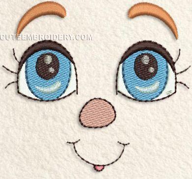 Free embroidery designs cute embroidery stickdateien applikationen plottervorlagen - Stickerei applikationen ...