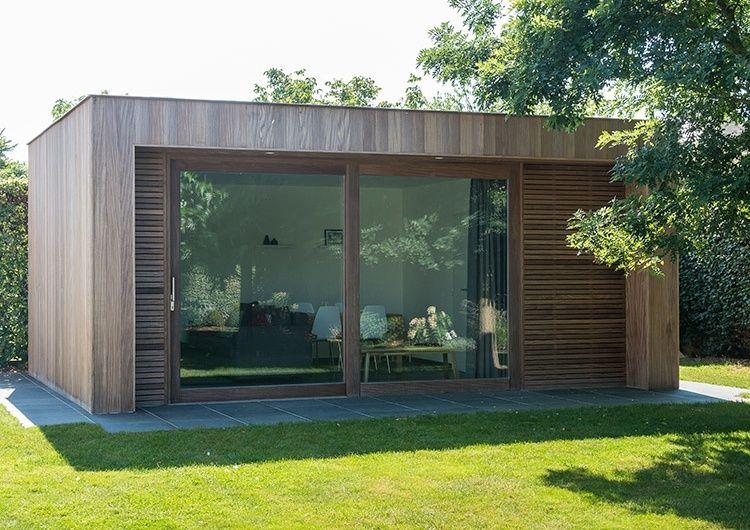 Spiksplinternieuw Modern houten bijgebouw - Woodarts (met afbeeldingen) | Tuinhuizen PH-16