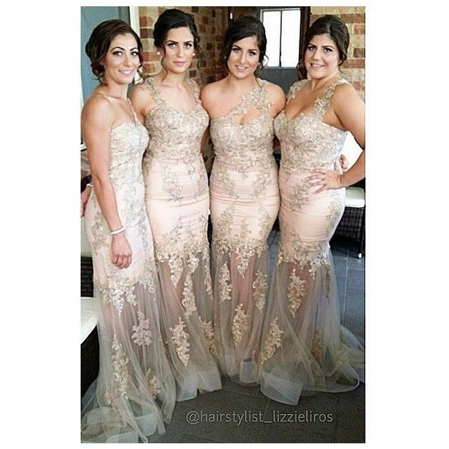 Buy wholesale navy blue bridesmaids dresses,off the shoulder bridesmaid dresses along with orange bridesmaid dress on DHgate.com and the particular good one-new designer 2015 customized one shoulder tulle see-through long bridesmaid dresses floral appliques romantic sheath wedding party dresses is recommended by xuelaier at a discount.
