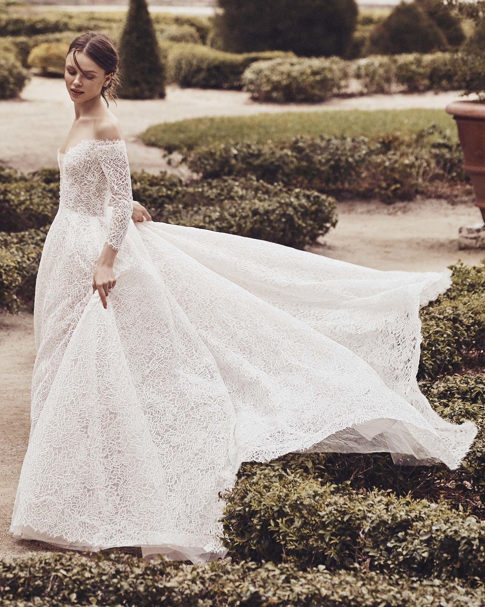 Monique Lhuillier Spring 2020 Wedding Dress Collection Plus
