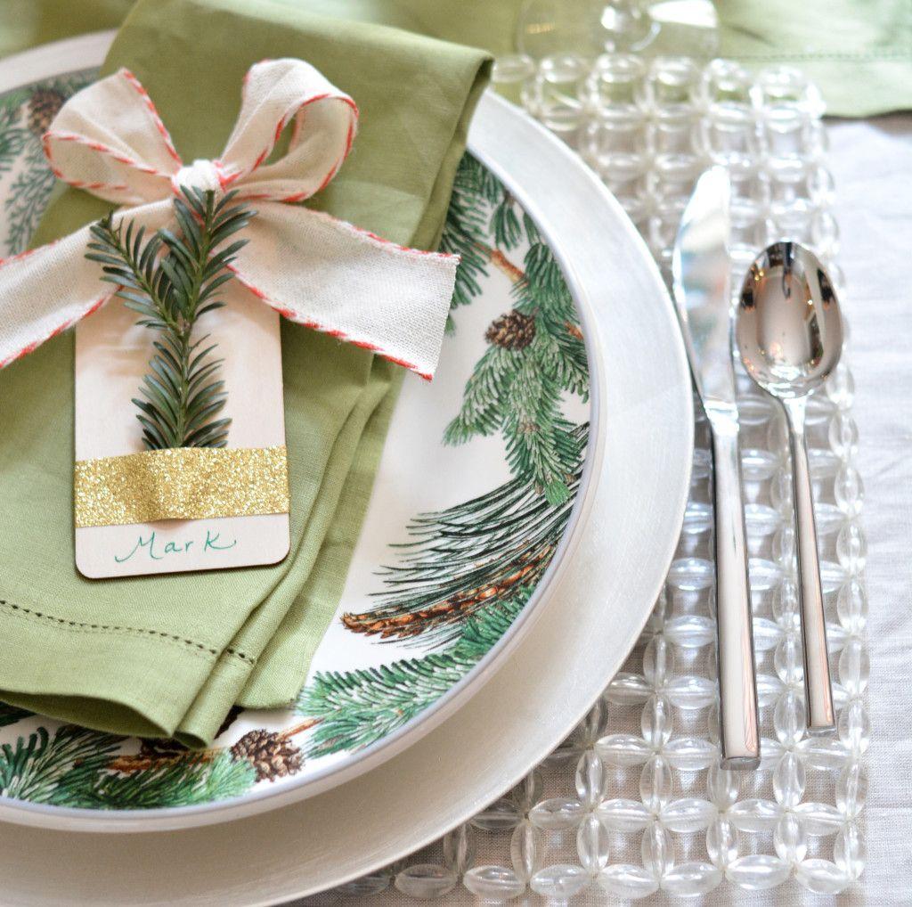 Twinkle Light Christmas Table
