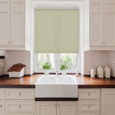 Best Sage Moisture Resistant Roller Blind Cheap Kitchen 640 x 480