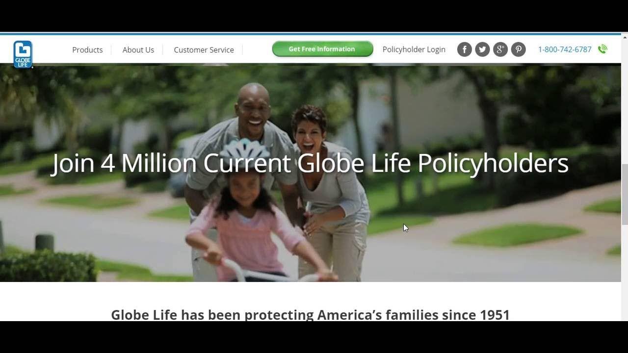 Pay Your Globe Life Insurance Premium Online On Www Globeontheweb