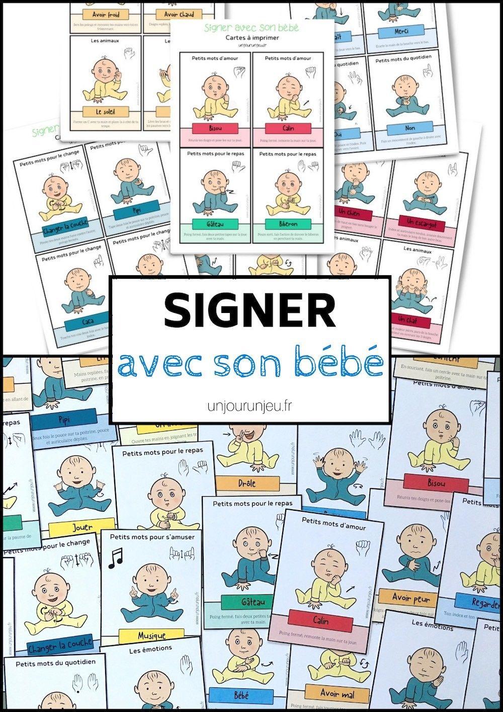 Langage Des Signes Bébé Gratuit : langage, signes, bébé, gratuit, Signer, Bébé, Cartes, Télécharger, Gratuitement, Langage, Signes, Bebe,, Langue, Bébé,