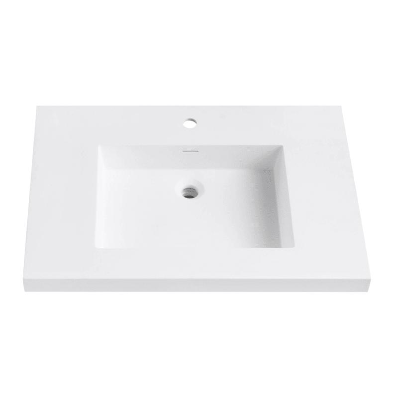Avanity Vut31 In 2020 White Bathroom Storage Bathroom Vanity Tops Vanity