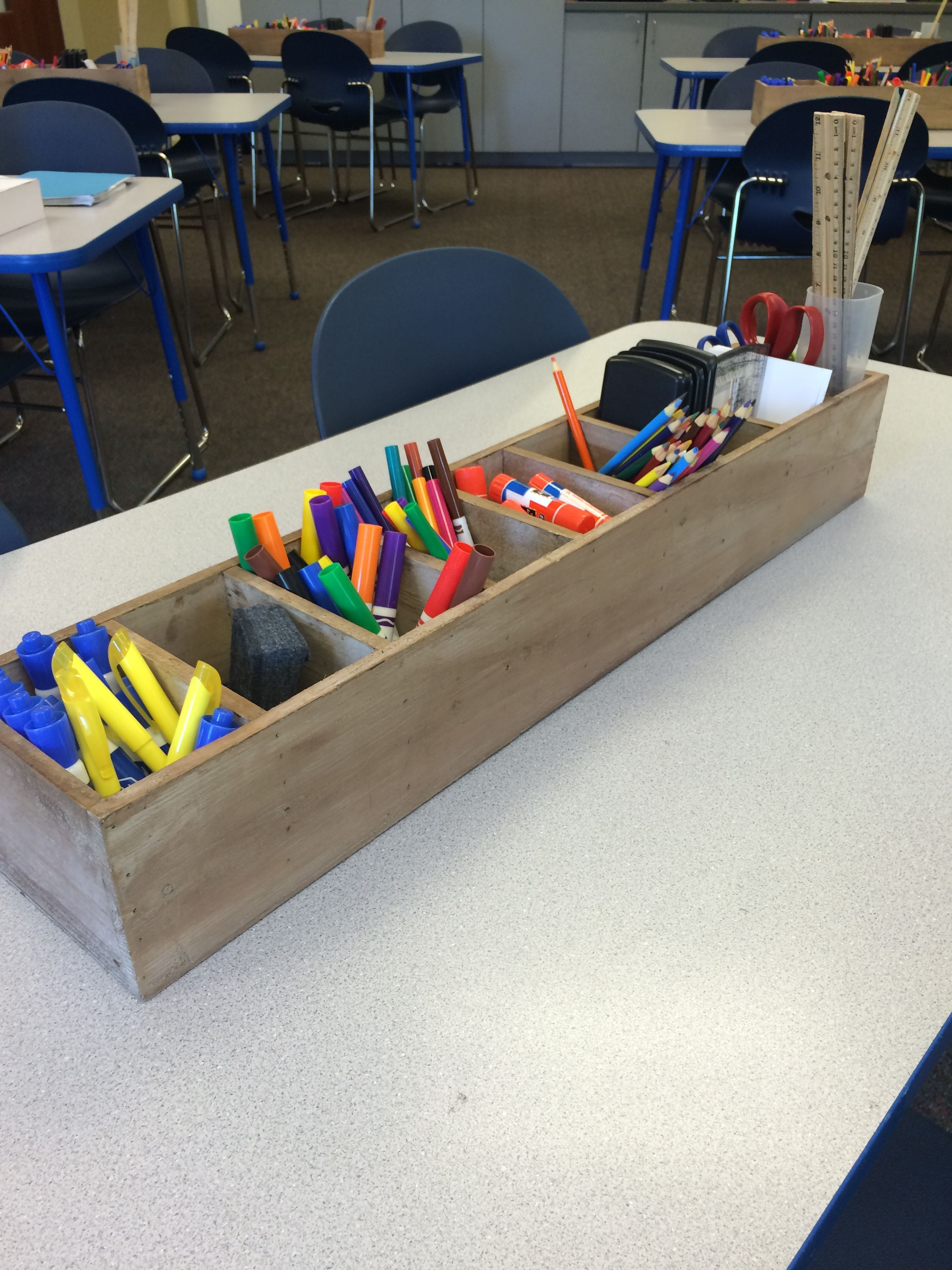 Student Supply Table Organizers