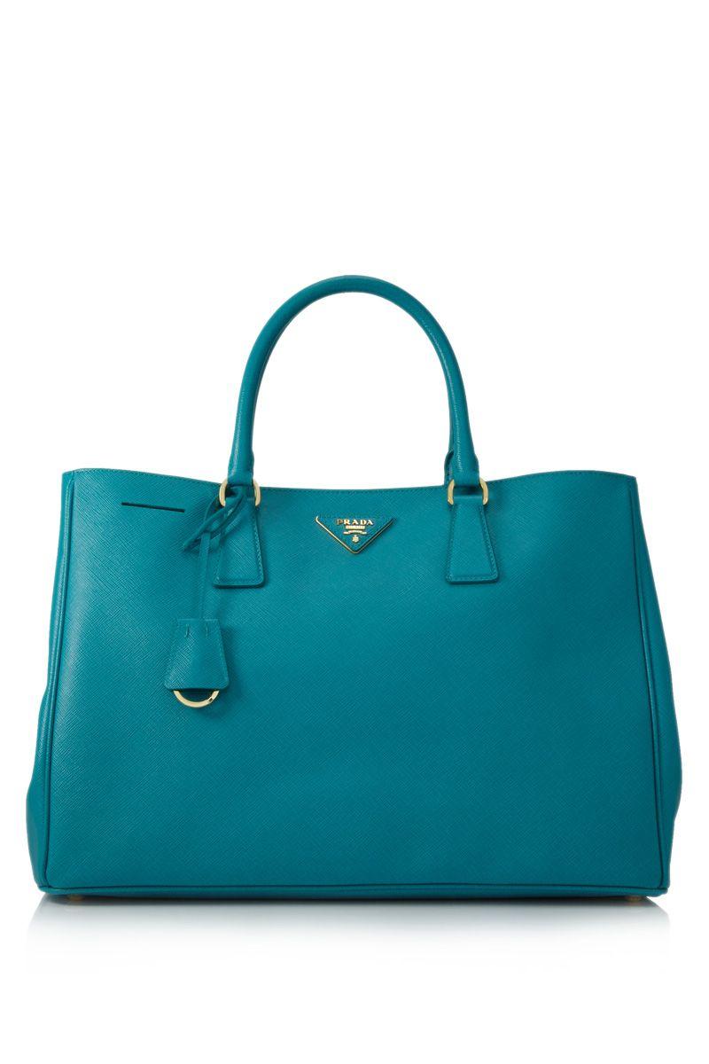 72535a89ef4f wishlist - a Prada Lux Saffiano tote in this gorgeous blue-green shade  3