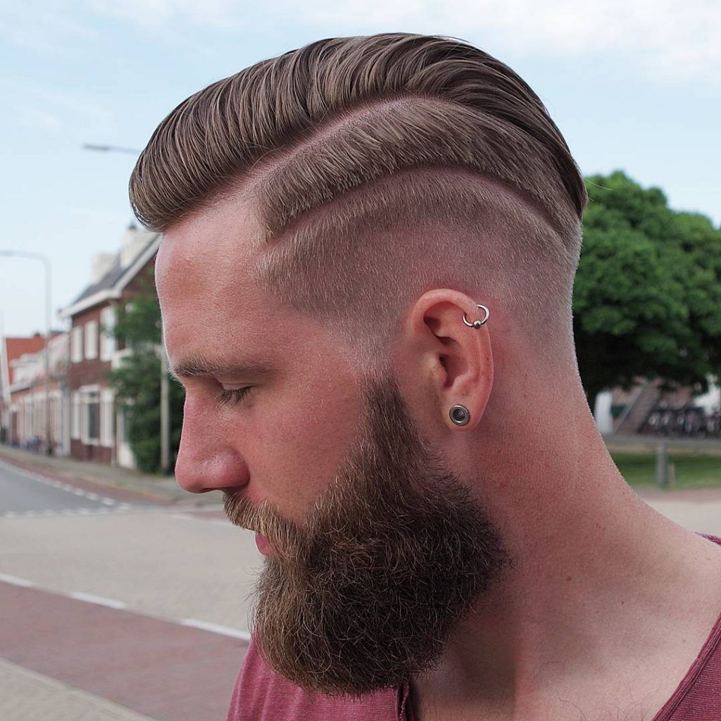 Top 40 Pompadour Hairstyles for 2018 | Pompadour hairstyle, Long hair beard, Pompadour style