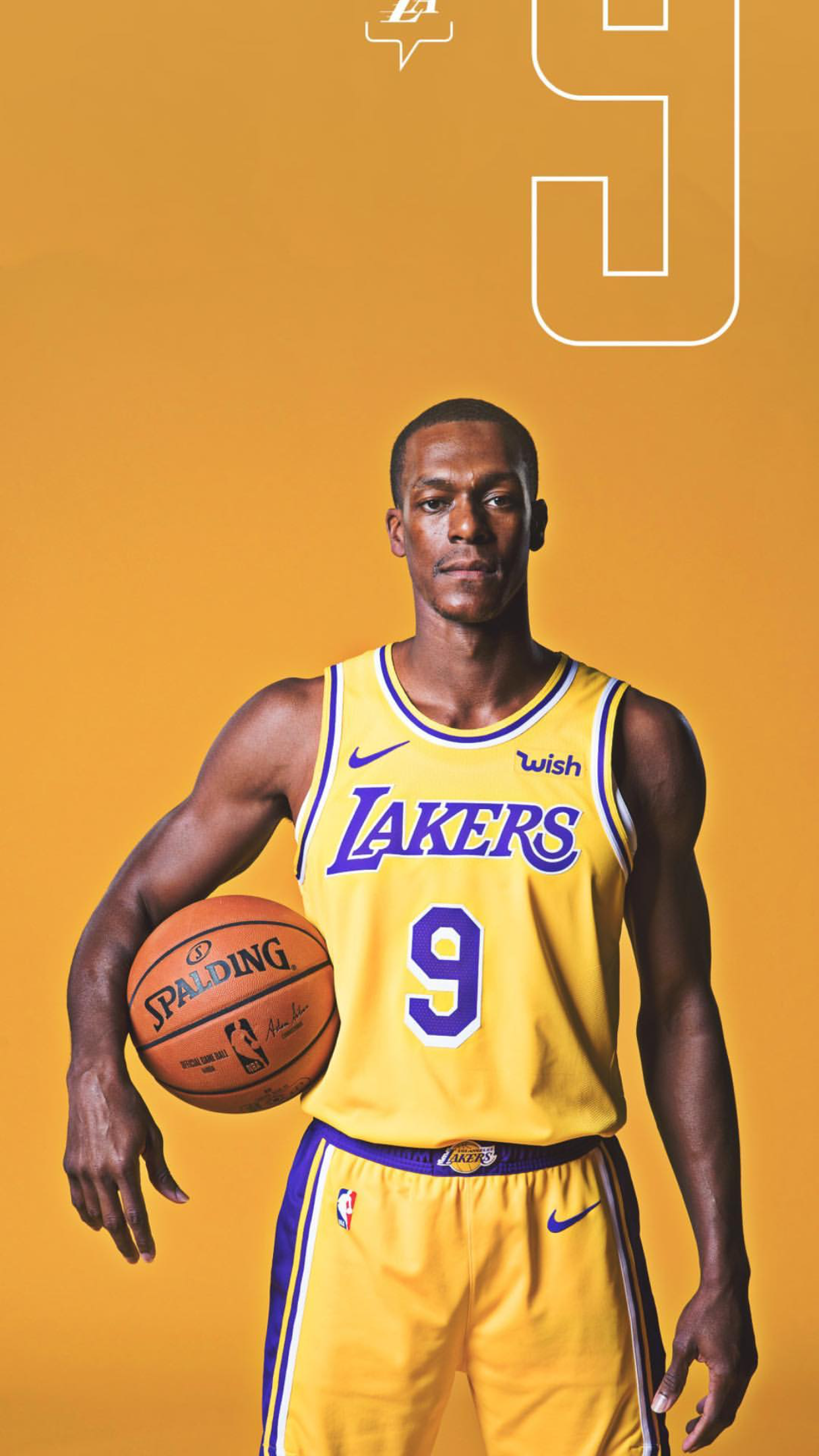 promo code 4dd2e 4923b Rajon Rondo Lakers | Lakers | Nba lebron james, Nba players ...