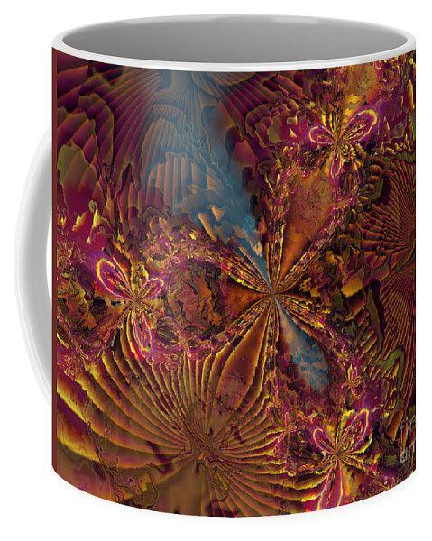Moxy Coffee Mug featuring the digital art Moxy by Kimberly Hansen