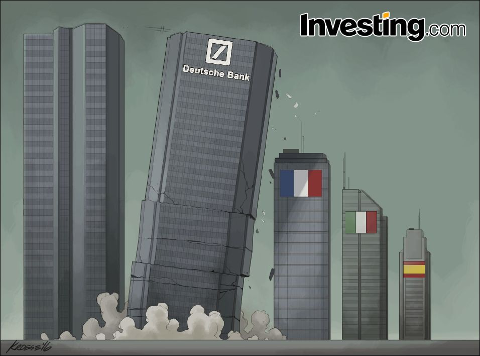 Will Deutsche Bank Collapse And Take Down The European Banking System With It Collapse Banking Skyscraper