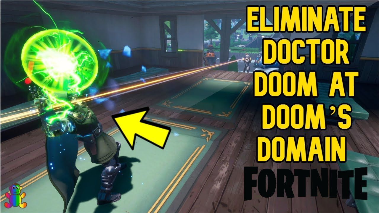 Eliminate Doctor Doom at Doom's Domain Guide Fortnite in