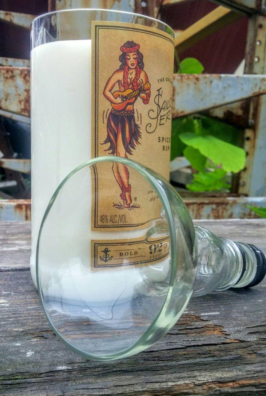 gallery photo | Liquor bottle candles, Bottles decoration ...